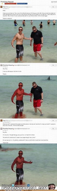21 Hilarious Photoshop Trolls