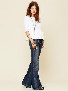 Free People Tuxedo Trouser at Free People Clothing Boutique