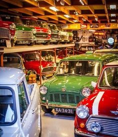 Someday I would like to own a vintage Mini again!