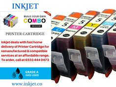 If you are looking for a cheap #PrinterCartridge for a particular printer, Inkjet is glad to inform you that we have the cheapest ink and toner for printers and the widest selection of popular printer cartridges, Canon toner cartridges and Epson toner cartridges as well as the less known printer cartridges such as Sharp toner cartridges for sale. We are one of the leading printer cartridge suppliers online with unrivaled customer service and the most competitive prices around.