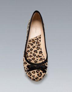 LEOPARD PRINT BALLERINA - Trf - Shoes - Woman - ZARA