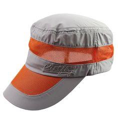 Mens Women Mesh Breathable Quick-Drying Baseball Hat Outdoor Activities  Anti-UV Sunshade Caps 6de4e6663403
