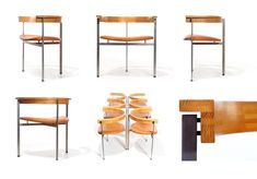 Poul Kjaerholm, PK11 chairs, 1957