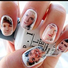 One Direction nails. How cool! cajuncutie101