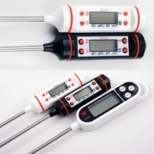 Digital Cooking Thermometer Sensor Probe BBQ for Kitchen Food Tool (Random Color)(China (Mainland))