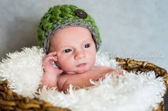 Handmade Chunky Crocheted Baby Hat with by AuntieRuthsBoutique, $15.99