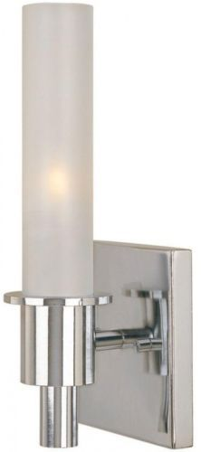 Wall Fixtures 116880: Dunwoody 1-Light Chrome Sconce Lighting Fixture Lamp Hallway Entryway Home Decor -> BUY IT NOW ONLY: $33.95 on eBay!