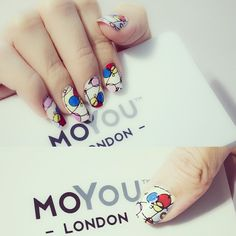 Artist N03, Wassily Kandinsky. moyou.co.uk | info@moyoumarketing.com #moyoulondon #nailart #london #beauty #pinup #artist #art #kandinsky #wassilykandinsky