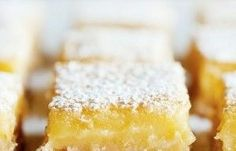 The absolute most scrumptious lemon bars of all time. Even Joseph Conrad likes them. Made with Young Living essential oil.