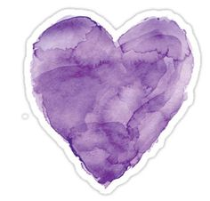 Purple stickers featuring millions of original designs created by independent artists. Bubble Stickers, Cool Stickers, Printable Stickers, Laptop Stickers, Planner Stickers, Hamilton Wallpaper, Tumblr Png, Watercolor Heart, Purple Aesthetic