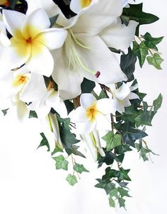 Lower section of a cascade by Loveflowers. Find your perfect wedding flowers at http://www.loveflowers.com.au/