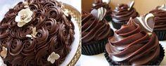 Saiba fazer o Ganache em Ponto de Bico e deixe seus bolos ainda mais lindos e irresistíveis! Veja Também: Saiba Tudo Sobre Ganache Veja Também: Cobertura d