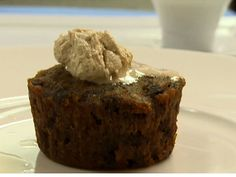 Christmas Pudding recipe  via Food Network