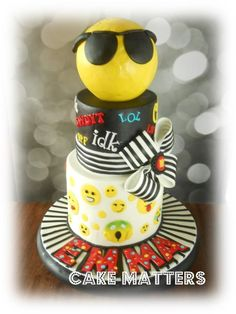 Emoji Fun - Cake by CakeMatters