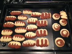 Marmor-Spritzgebäck Hot Dogs, Ethnic Recipes, Food, Biscuits, Pies, Kuchen, Marble, Essen, Meals