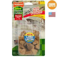 Healthy Edibles Wild Salmon Dog Chew Treats - All Sizes