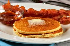 """These """"corn cakes"""" pancakes turned out well. I used yellow corn meal and added more than the recipe called for - kids and hubby loved them."""