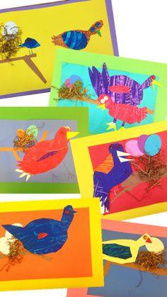 PARK ART SMARTIES: Kindergarten: Eric Carle Birds