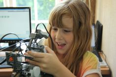 We're all about encouraging more girls to get in to Tech - the more they see, the more they enjoy.