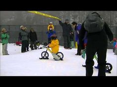 Snow Skis for Strider balance bikes.
