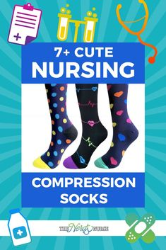 vast selection sold worldwide really comfortable 20 Best Cute Compression Socks for Nurses images in 2019 ...