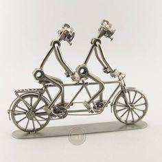 Schraubenmännchen Tandem.Zu Zweit macht so eine Fahrradtour viel mehr Spaß.37.98€.You want this?Look here: www.stahlmaennchen.de/fahrzeuge/fahrraeder/tandem-841.html