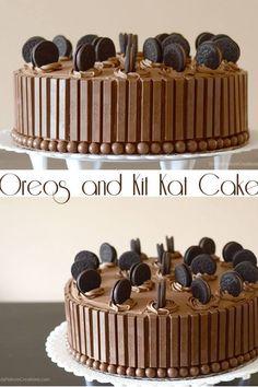 Kitkat and malteaser cake!