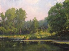 July Mill Pond  - Marc Hanson