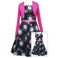 Penelope Garcia, Cute Little Girl Dresses, Lovely Dresses, Teen Girl Outfits, Outfits For Teens, Girls Party Dress, Girls Dresses, Black White Pink, I Dress