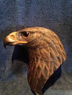 Excellent Wood Carving. Wood Carving Patterns, Wood Carving Art, Carving Designs, Bone Carving, Wood Art, Wood Carvings, Cnc Wood, Eagle Head, Wood Creations