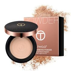 TWO.O Concealer Puff Face-Powder Mineral-Foundations Whitening Oil-Control Natural Natural Smokey Eye, Natural Eye Makeup, Natural Face, Makeup For Brown Eyes, Smokey Eye Makeup, Mineral Foundation, Powder Foundation, Drugstore Foundation, Makeup Foundation