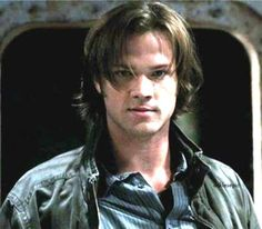 Sam Winchester (Alpha Shifter?) Some scary, smouldering stuff right there.