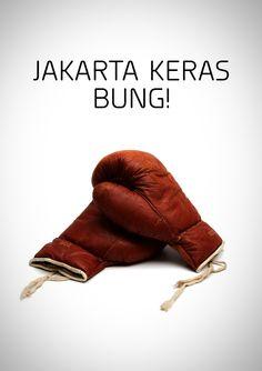 Yeah !! Jakarta keras Bung! #typho