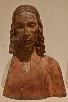 15th Century German bust of Christ. At the Nasher Museum of Art, Durhan, NC. Photo: Åse Margrethe Hansen, 2014