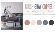 Blush Gray Copper Room Decor Inspiration Twitter