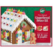 Ready to assemble Pre-Baked - Pre-Made Gingerbread House Kit by Wilton 2104-1903