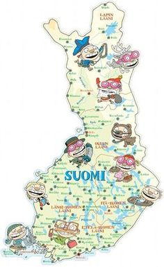 Welcome to My Finland Finnish Language, Lapland Finland, World Thinking Day, Scandinavian Countries, Cute Comics, My Heritage, Science And Nature, Pre School, Special Education