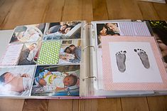 Project Life Baby Album – First Year » Mom Writes Life