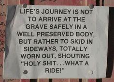 Life's journey...