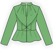 Jacket Your Size Pattern 4233 - via @Craftsy