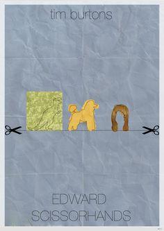 Edward Scissorshands [Tim Burton, 1990] «Tim Burtons Author: Bart Van Ackooij»