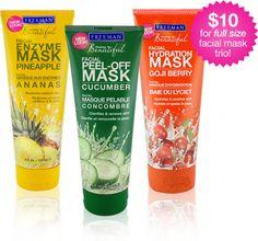 Freeman face masks - goji berry