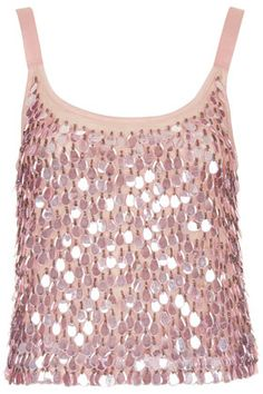 Teardrop Sequin Cami Top