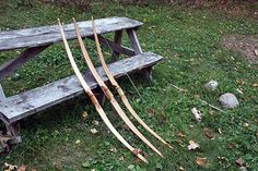 How to make a bow and arrow!