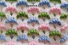 Baby Boy Knitting Patterns, Baby Hats Knitting, Knitting Designs, Knit Patterns, Free Knitting, Stitch Patterns, Knitting Videos, Crochet Videos, Knitting Stitches