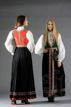 Sunnfjordsbunad hover Norway Culture, Folk Costume, Costumes, Kimono Top, Beauty, Tops, Christmas, Women, Fashion