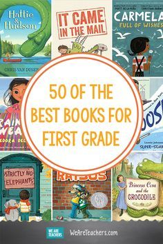 60 of the Best Books for First Grade