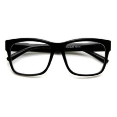 Large Retro Clear Lens Nerd Hipster Wayfarer Glasses 8789 (73 GTQ) ❤ liked on Polyvore featuring accessories, eyewear, eyeglasses, glasses, sunglasses, clear glasses, clear eyeglasses, hipster eyeglasses, clear square glasses and thick square glasses