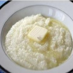Grits are a fundamental Southern food and most people have never tried them. This recipe uses milk which makes the grit's a bit thicker and creamier....
