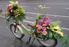 Bike with flowers ~ Sonjo Wong Holland Florist